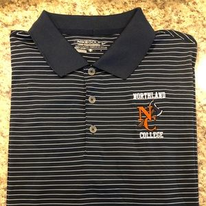 Nike golf polo from Northland college